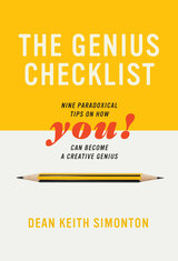Book Cover of The Genius Checklist by Dean Keith Simonton (ISBN: 9780262038119)
